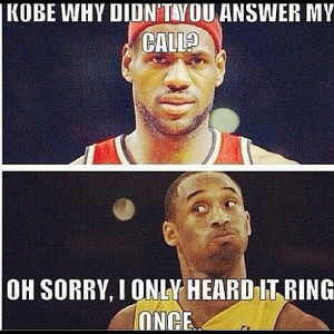 Why Didn't Kobe Answer Lebron's Call? | Terez Owens