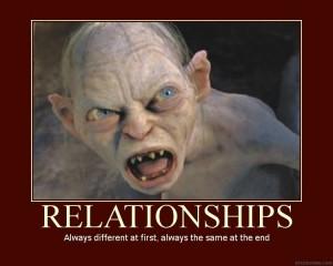 Gollum on Relationships Image
