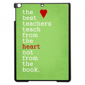 Thank You Teacher Quotes iPad Air Case