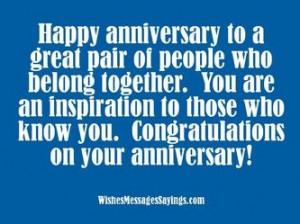 Inspirational Anniversary