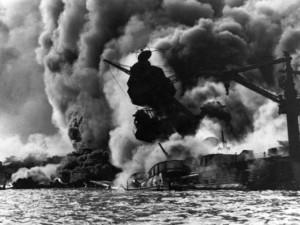 USS Arizona sinks in Pearl Harbor (Photo: AP/file)