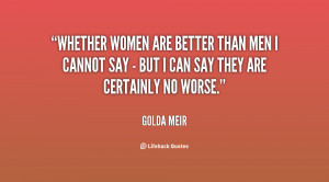 Girls Are Better than Boys Quotes