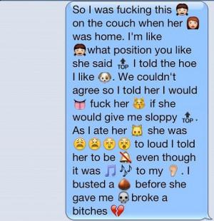 Emoji Story on Whatsapp