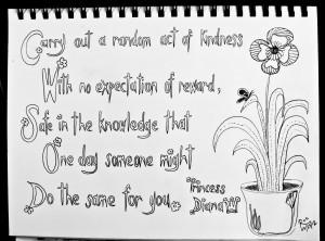Princess Diana Kindness Quote