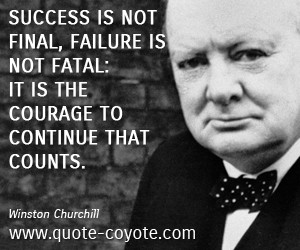 18 Inspirational Quotes by Winston Churchill that will ... |Powerful Quotes About Failure Churchill