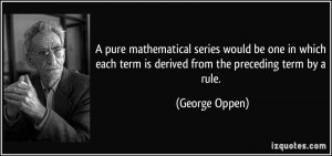 More George Oppen Quotes