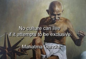 Mahatma gandhi quotes sayings culture wise deep quote
