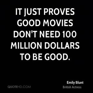 Emily Blunt Movies Quotes