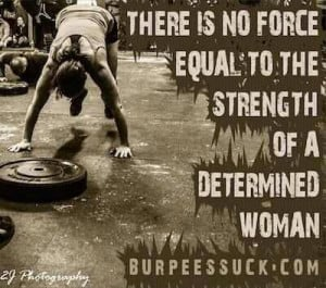 CrossFit. Burpees. #truth #toughmudderintraining