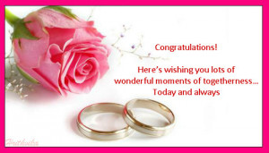 Congratulations On Getting Engaged.