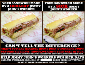 Jimmy John's Found Guilty of Violating Labor Law