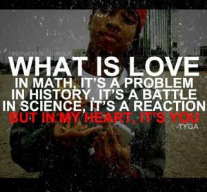cute, love, love u, pretty, quote, quotes, tyga