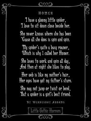 Gothic Love Quotes Little gothic horrors: a very