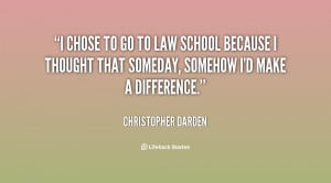 law school quotes from chris
