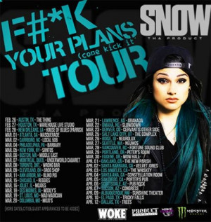 Snow Tha Product tour dates & video; upcoming Lil Durk & Mos Def shows ...