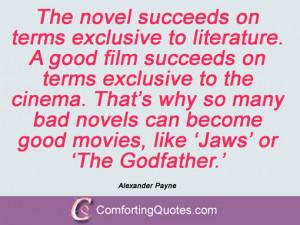 Alexander Payne Sayings