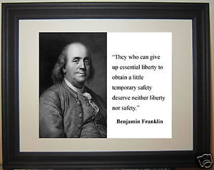 Benjamin-Franklin-Founding-Father-liberty-Quote-Framed-Photo-Picture