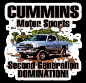 Truck Tee's › Portfolio › Cummins Motor Sports