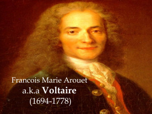 Voltaire Philosopher The life of voltaire born