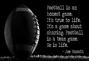 football #quote by Joe #Namath