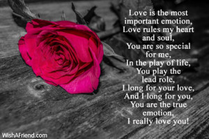 You Are So Special To Me Poem You are so special for me,