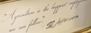 us jefferson philosophy jeffersonian influences at our hotel thomas ...