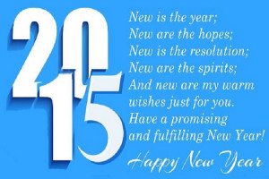 Happy New Year 2015 Shayari, New Year Shayari in Hindi, Happy New Year ...