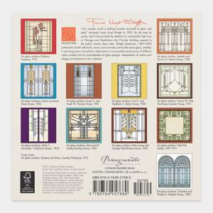 90814_B2_Frank_Lloyd_Wright_Designs_Mini_Wall_Calendar