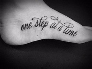 Temporary Tattoos Wonderful Foot Airbrush Quote Tattoo
