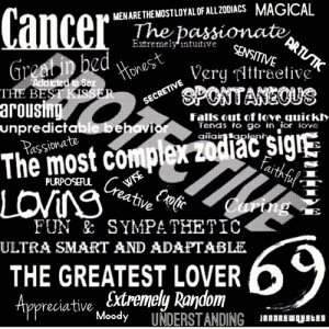 Cancer Horoscope Quotes 3 images above is part of the best pictures in ...