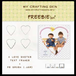 ... Quotes And Sayings: Scrapping Freebie Love Quotes And Sayings On Frame