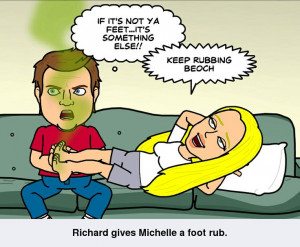 ... Michelle's stinky feetStinky Feet, Michele Stinky, Michelle Stinky