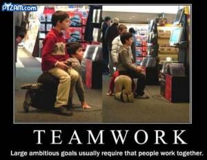 Teamwork random