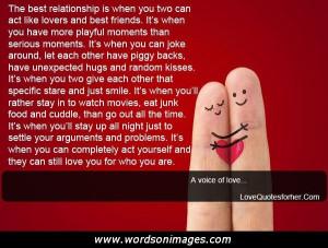 Romantic friendship quotes
