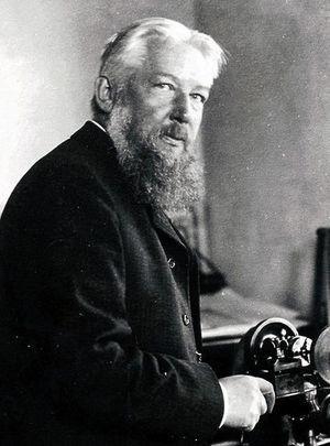 Wilhelm Ostwald il giorno del cinquantaseiesimopleanno della sua
