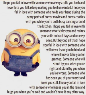 inspirational Love Quotes By Minions....(5 Photos)