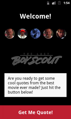 Last Boy Scout Quotes - screenshot