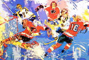 LeRoy Neiman Hockey Paintings
