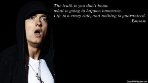 Eminem Quotes About Life. QuotesGram