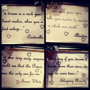disney quotes for a little girls room :)Disney Girls Room ...