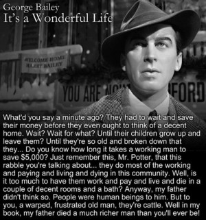 It's a Wonderful Life Quotes | It's A Wonderful Life. BAM. | the movie ...