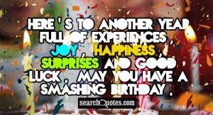 Turn Up Birthday Quotes It my birthday tomorow:) i