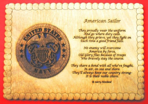 navy quoates poems sayings amp clever quotes custom laser accents the ...