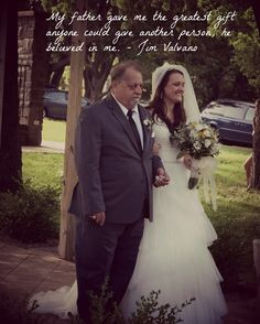 Father & Daughter quote for wedding photo Photo by EGB Photography ...