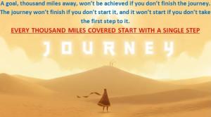 Journey Begins Wallpaper