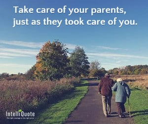sound difficult, but in reality, taking care of an elderly parent ...