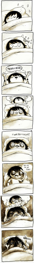Waking Up Early Or Late, You Can Never Win In Beauty Sleep Comic