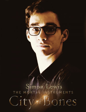 Fanmade poster of Simon Lewis played by Robert Sheehan by lenaduchane ...