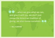 When we give more then we can whether it's physical, mental, emotional ...