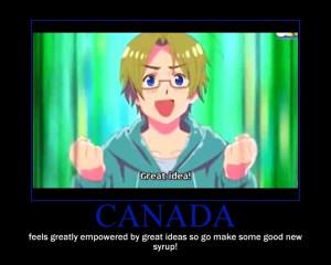 Canada from Hetalia Canada